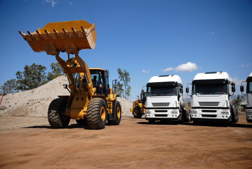 Leasing maszyn budowlanych używanych